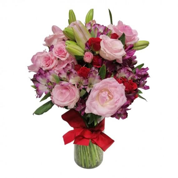 Arranjo Mix de Flores Poesia