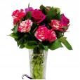 Arranjo com Mini Rosas Ternura
