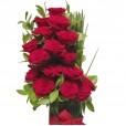 Arranjo com 15 Rosas Colombianas Elegance