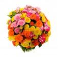 Arranjo de Mini Rosas Colors
