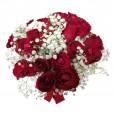 Arranjo com 20 Rosas Nacionais