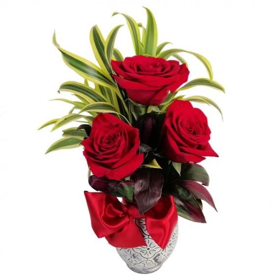 Surprise Arrangement of Roses