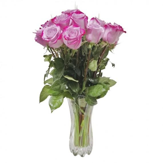 Arranjo Sweet com 25 rosas importadas