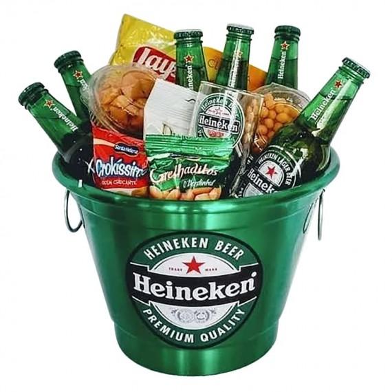 Heineken Bucket with Snacks