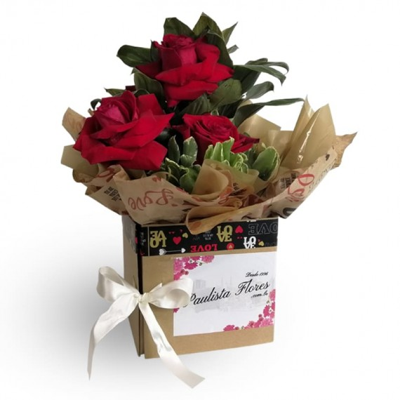 Surprise Sweet Box with Roses II
