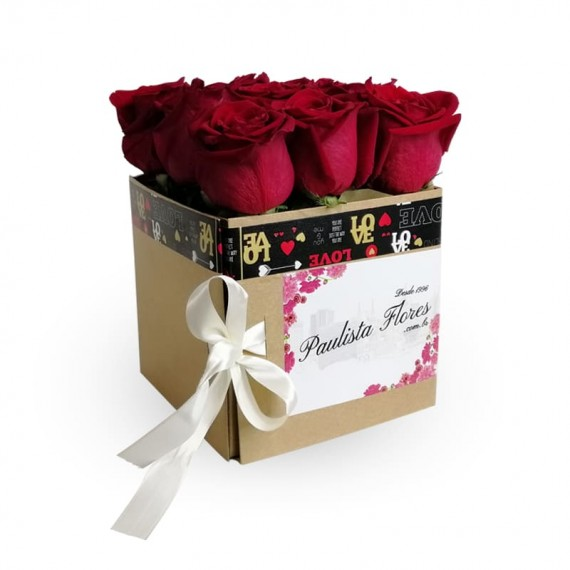 Surprise Sweet Box with Roses III