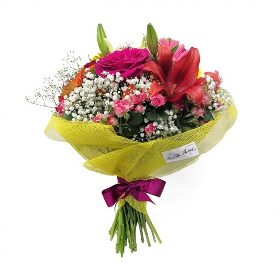 Buquê Mix de Flores Delicadas