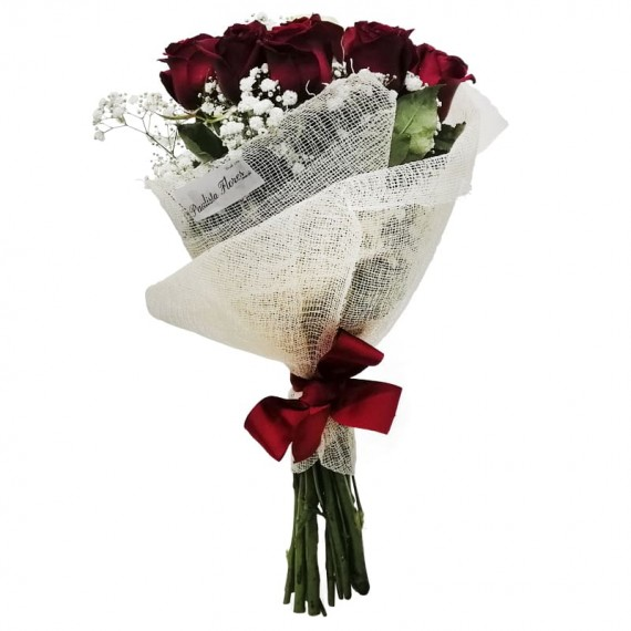Buquê com 13 Rosas Nacionais