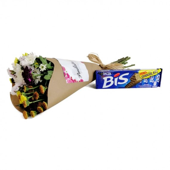 Candor Bouquet with chocolate Biss
