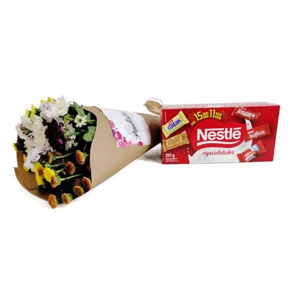 Candor Bouquet with chocolate Nestlé