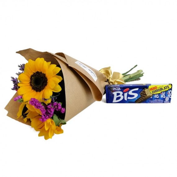 Happiness Bouquet with chocolate Biss