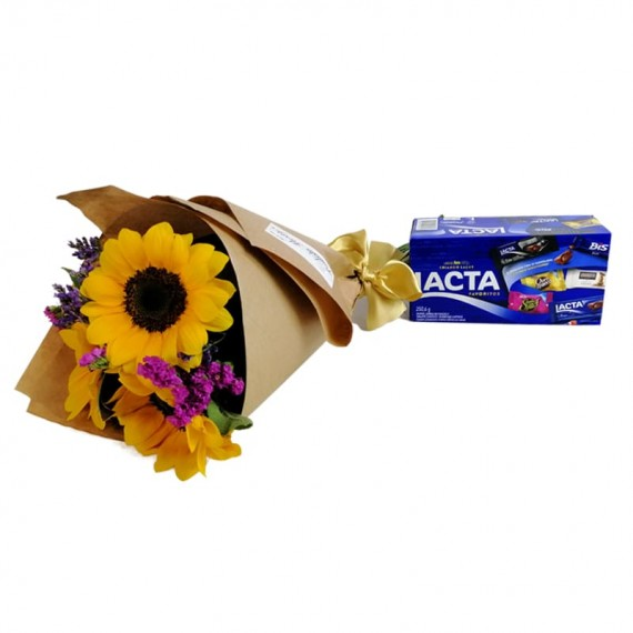 Happiness Bouquet with chocolate Lacta