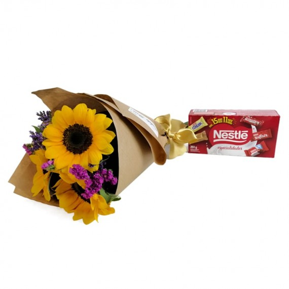 Happiness Bouquet with chocolate Nestlé