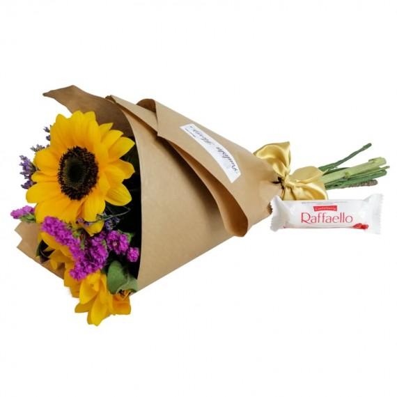 Happiness Bouquet with chocolate Raffaello