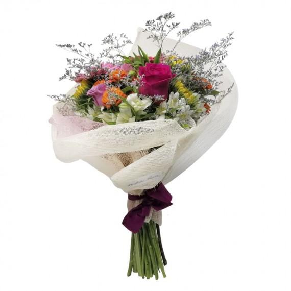 Buquê Mix de Flores Alegria