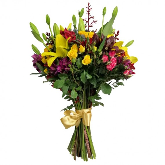 Mixed Bouquet of Flowers Kindness