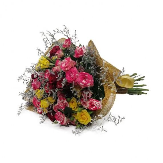 Mini Roses Mix Bouquet