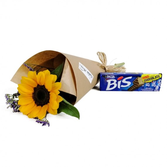 Sun Bouquet with chocolate Biss