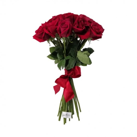 Rustic Bouquet with 25 National Roses