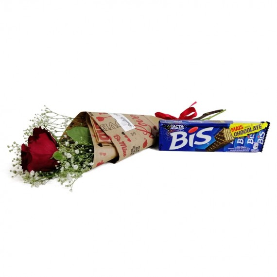 National Rose Bouquet Delicacy with chocolate Biss
