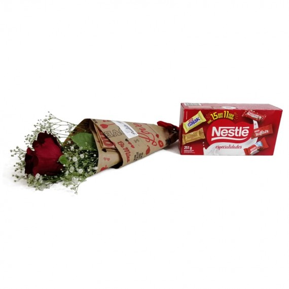 National Rose Bouquet Delicacy with chocolate Nestlé