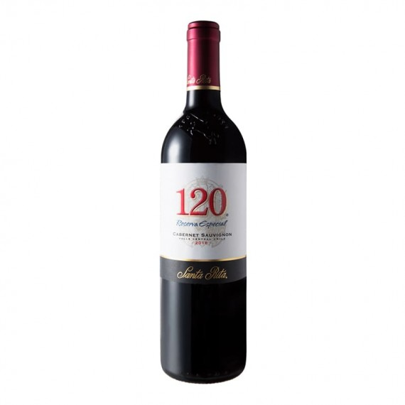 Vinho Chileno Tinto 120 SANTA RITA Cabernet Sauvignon