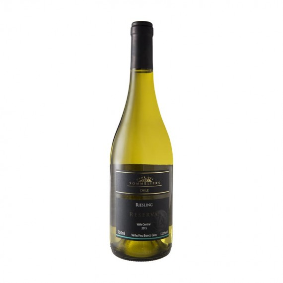 White Chilean Wine Riesling Reserve CLUB DES SOMMELIERS Bottle