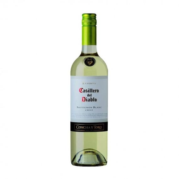 White Chilean Wine Concha Y Toro CASILLERO DEL DIABLO Reserva Sauvignon Blanc