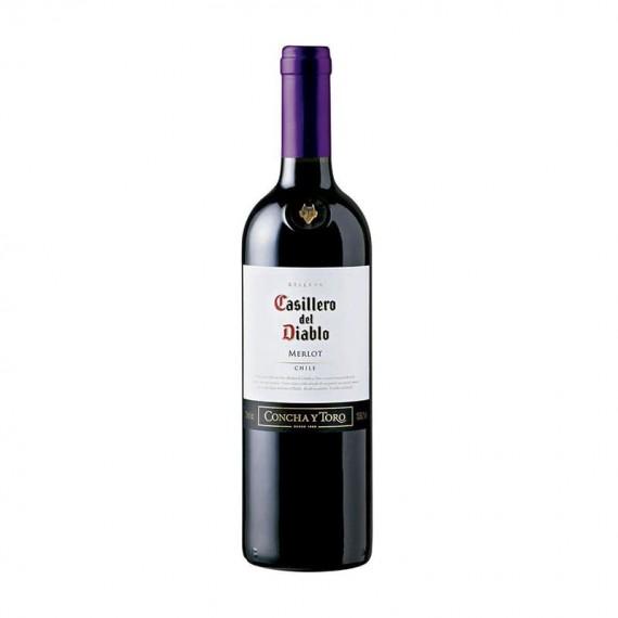 Red Chilean Wine Concha Y Toro CASILLERO DEL DIABLO Reserva Merlot