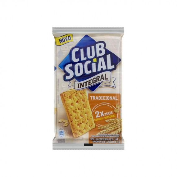 Biscoito CLUB SOCIAL Original ou Integral