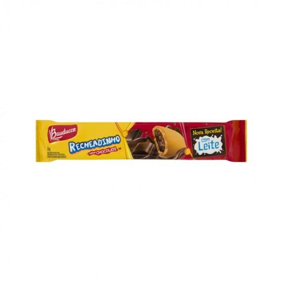 Biscoito BAUDUCCO Recheadinho Sabor Chocolate ou Goiaba