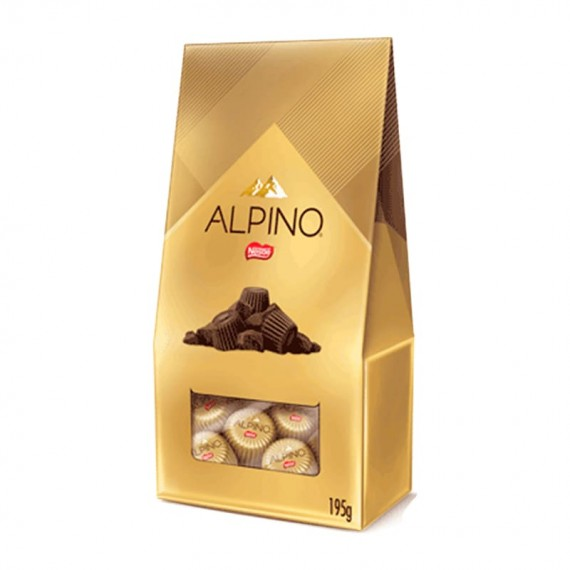 Chocolate Bombom Alpino 195g