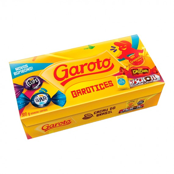 Caixa de Bombom Chocolate Garoto 300g