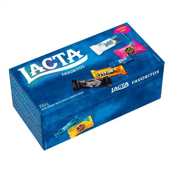 Caixa de Bombom Chocolate Lacta 250,6g