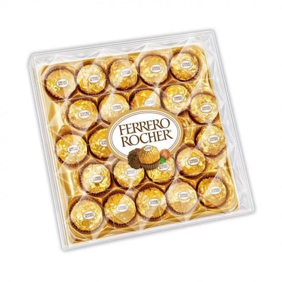Chocolate Ferrero Rocher Caixa com 24 unidades