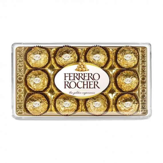 Chocolate Ferrero Rocher Caixa com 12 unidades