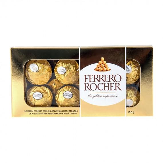 Chocolate Ferrero Rocher caixa com 08 unidades