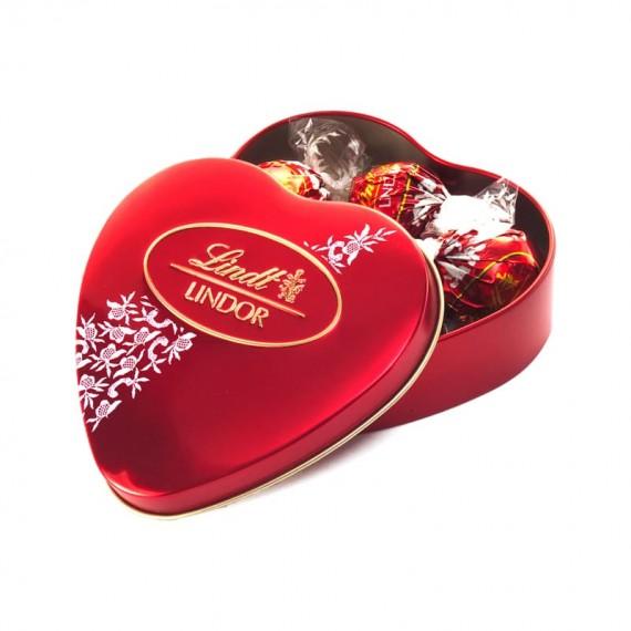 Chocolate Lindt Lindor Coração