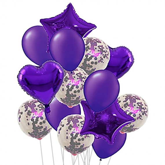 Bouquet of Purple Balloons