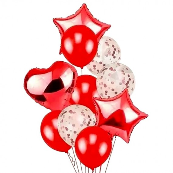 Bouquet of Red Balloons