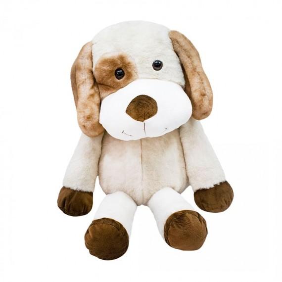 Plush Dog with Brown Spot on Eye - 36cm