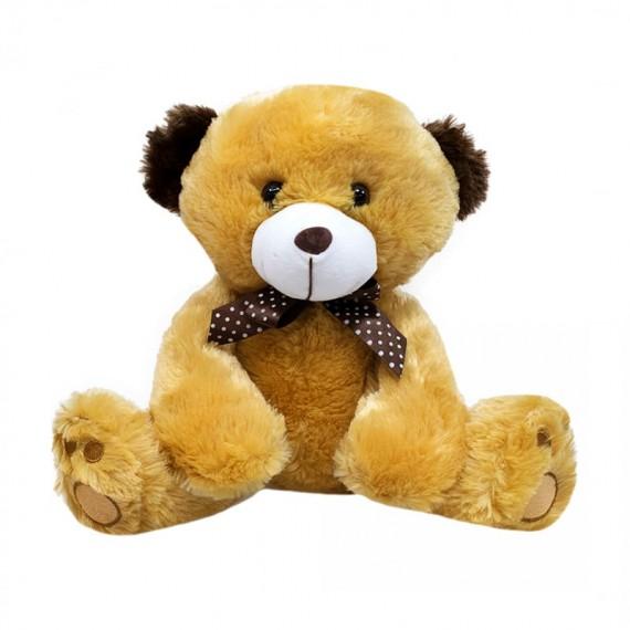 Brown Teddy Bear and Dark Brown Ears - 27 cm