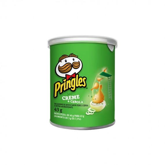 Batata Frita Sabor Creme e Cebola Pringles 43g