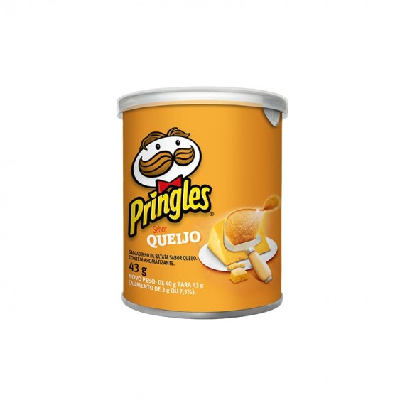 Batata Frita Sabor Queijo Pringles 43g