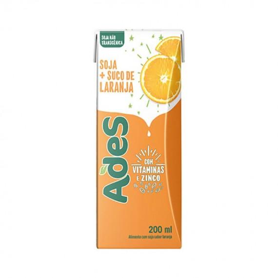 Bebida de Soja Laranja Ades Caixa 200ml