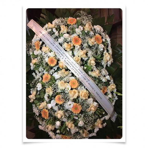 Coroa de Flores Descanso