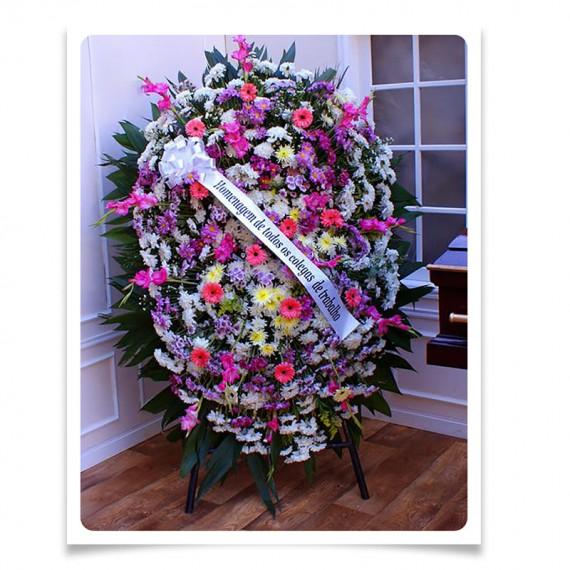 Coroa de Flores Mix 1