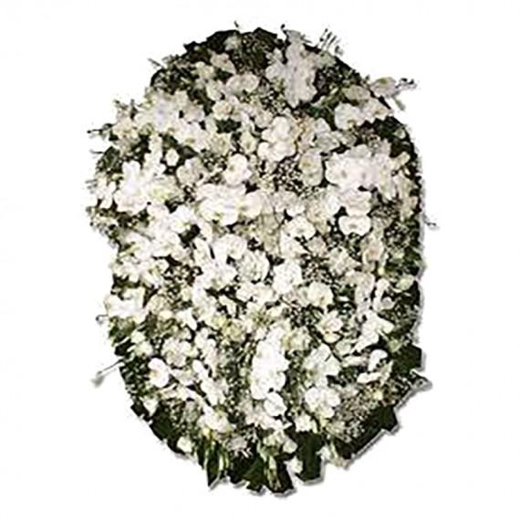 Coroa de Flores de Orquídeas Premium