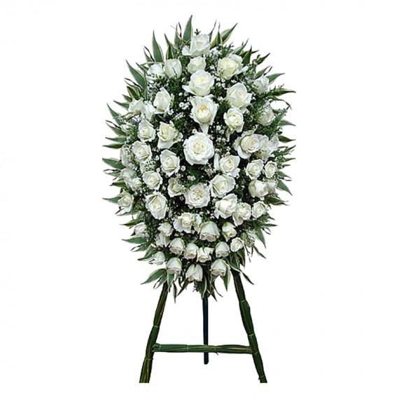 Coroa de Flores Ouro Branco