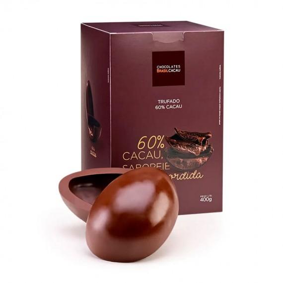 Easter Egg Brasil Cacau Truffled 60% Cocoa 400G